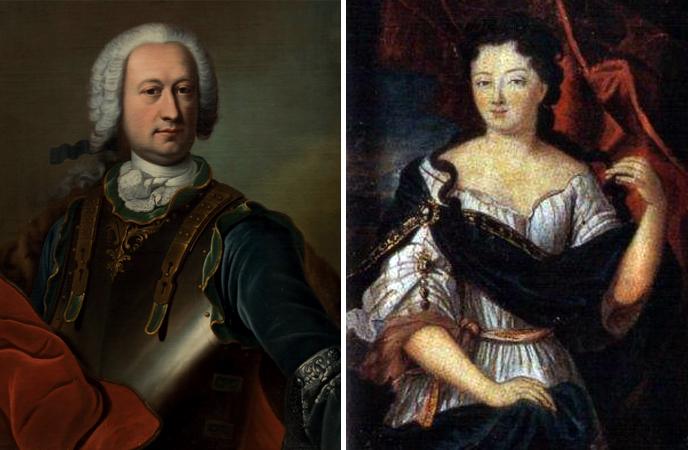 Родители — Жан-Батист Жозеф Франсуа граф де Сад и Мари-Элеонор де Майе-Брезе де Карман