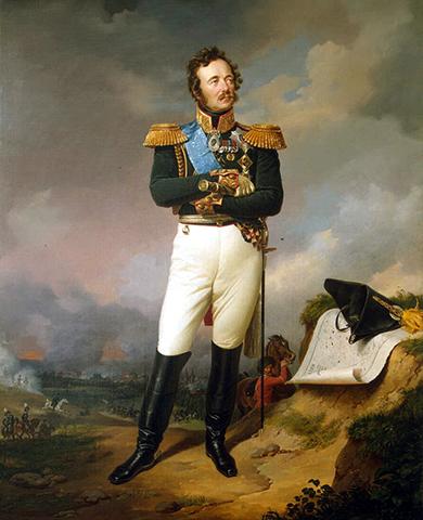 Иван Паскевич (портрет 1834 г.)
