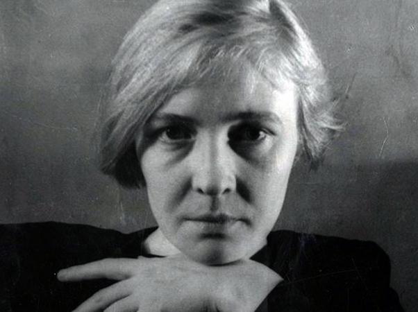 Писательница Ольга Берггольц