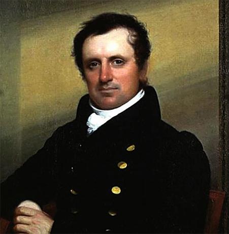 Портрет Купера в военно-морской форме (Д.У Джарвис)