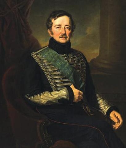 Портрет Ивана Паскевича худ. Я.К. Каневского (1849 г.)
