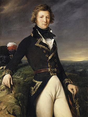 Луи-Филипп I. Портрет 1792 г. Худ. Леон Конье