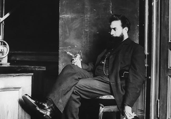 Ученый Вильгельм Рентген