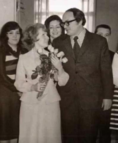 Со вторым мужем Леонидом