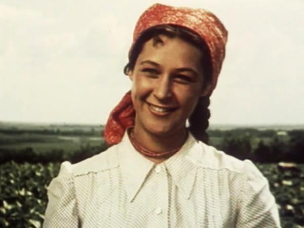 """В фильме """"Щедрое лето"""" (1950)"""