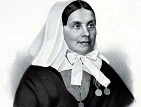 Сестра милосердия Екатерина Бакунина