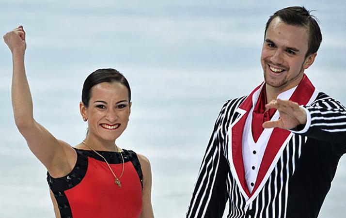 Ксения Столбова и Федор Климов на Олимпиаде в Сочи