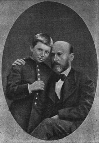 Александр Бутлеров с сыном Владимиром