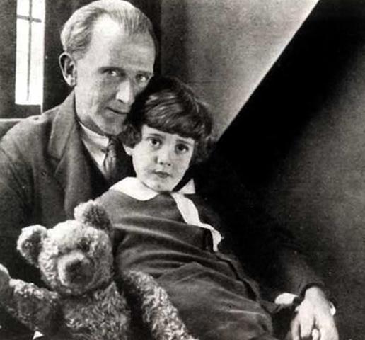 С сыном Кристофером