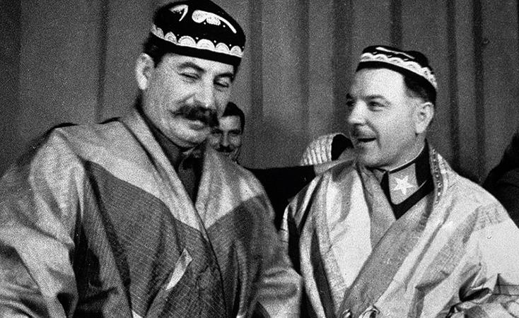 Иосиф Сталин и Климент Ворошилов