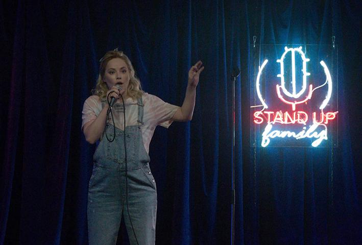 В комедии «Стендап под прикрытием» (2021)