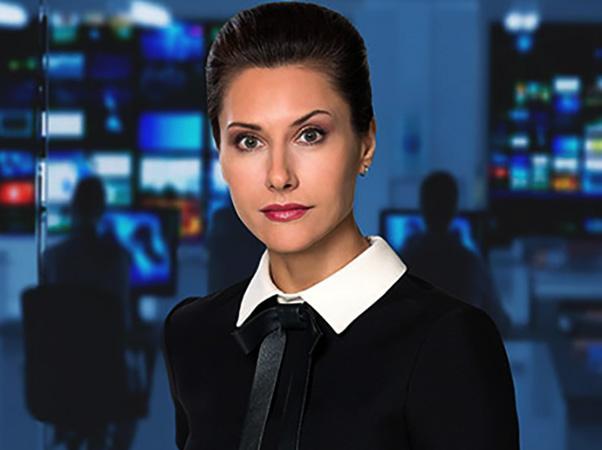 Телеведущая Лилия Гильдеева
