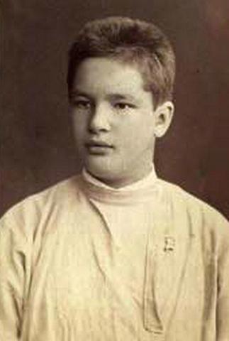 Евгений Боткин в юности
