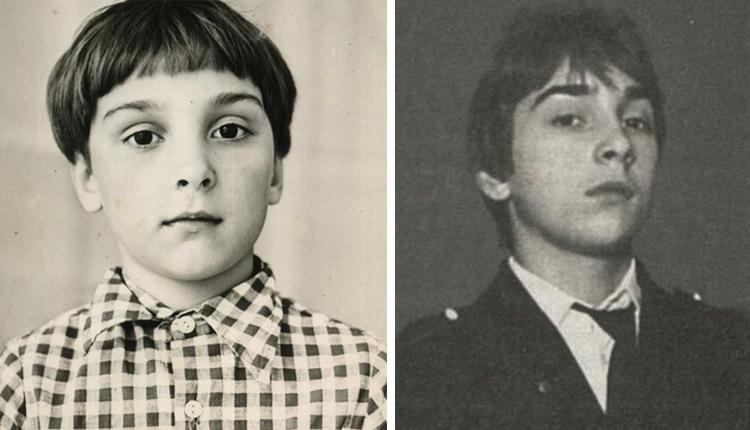 Михаил Горшенев в детстве и юности