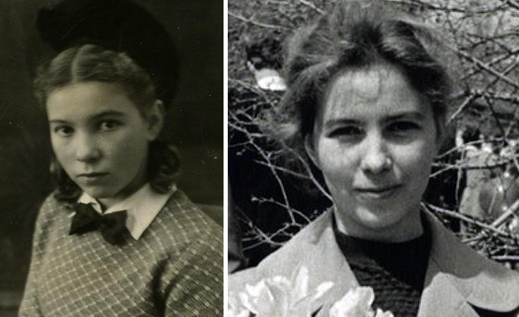 Раиса Горбачева в юности и молодости