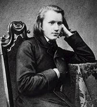 Иоганнес Брамс в юности