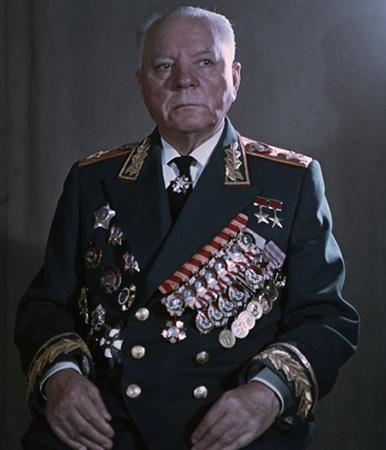 Климент Ворошилов в старости
