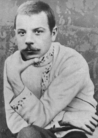 Климент Ворошилов во время ссылки (примерно 1910 г.)