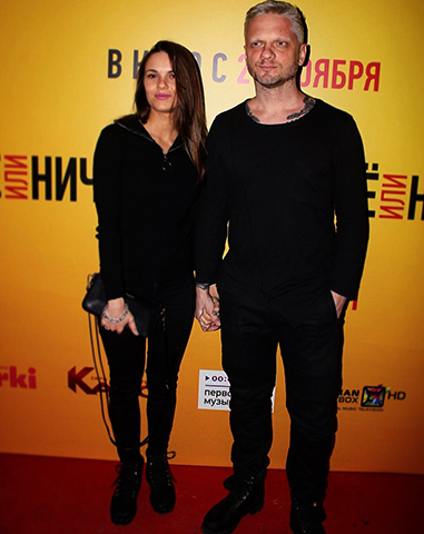 Со второй женой Анастасией