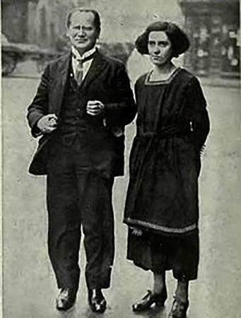 С женой Айви в молодости