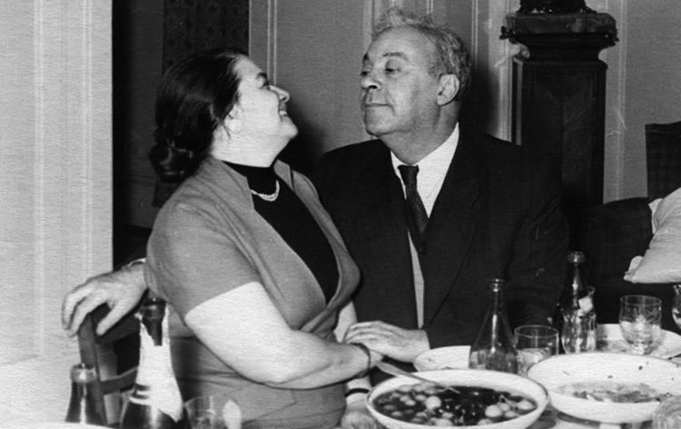 С третьей женой Татьяной Риттенберг