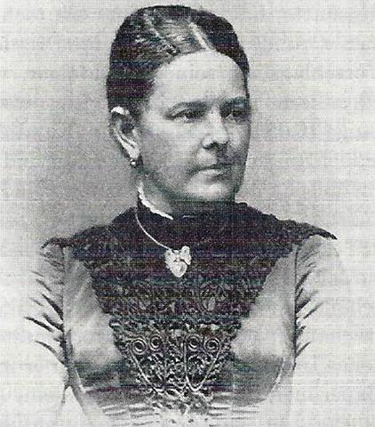 Жена Анна Берта Людвиг