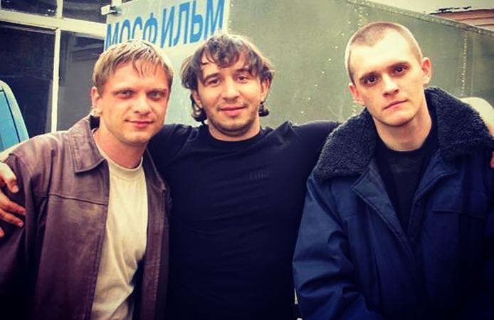 Александр Шаляпин (слева) в молодости (2005)