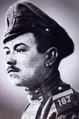 Иван Панфилов в молодости