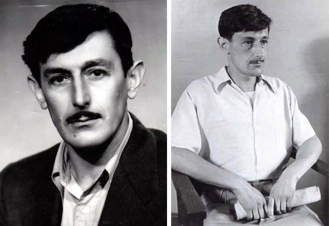 Виктор Некрасов в молодости