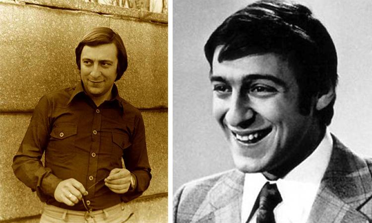 Геннадий Хазанов в молодости