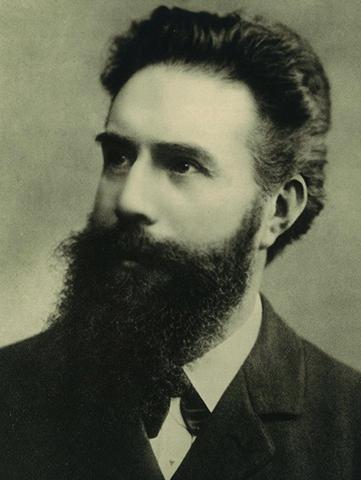 Молодой Вильгельм Рентген