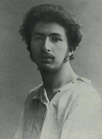 Молодой Сергей Городецкий