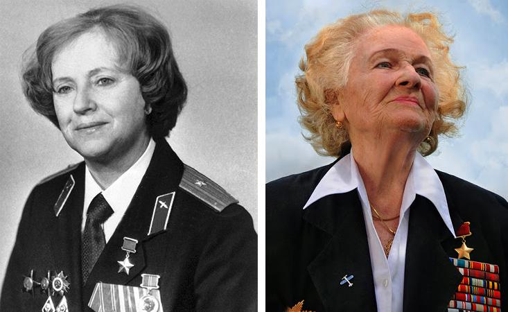 Евгения Жигуленко в зрелости и старости