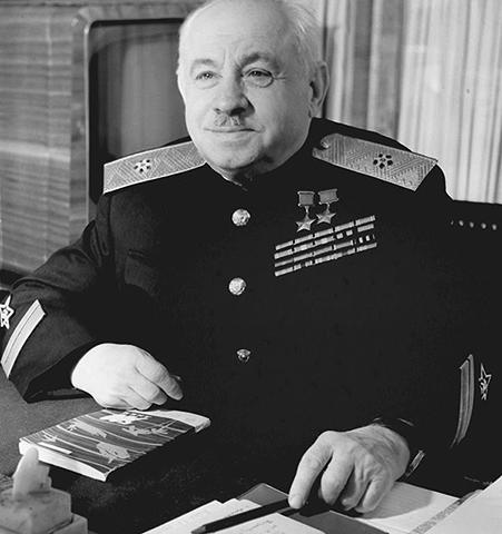 Адмирал Иван Папанин