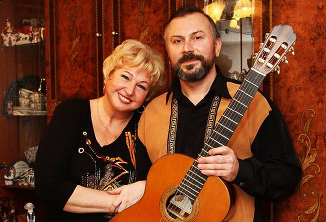 Галина Коньшина и Александр Шумидуб