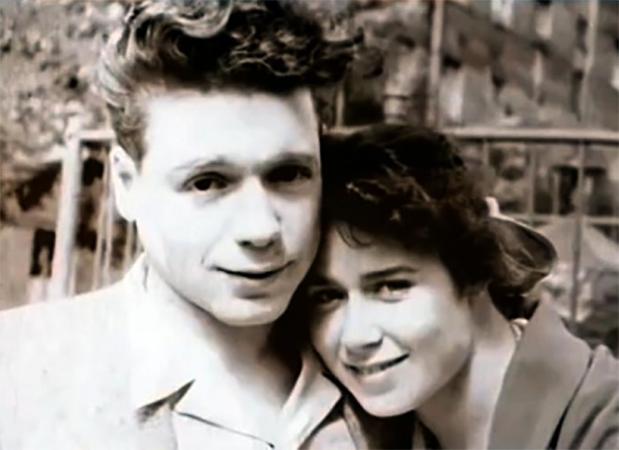 С первой женой Аллой