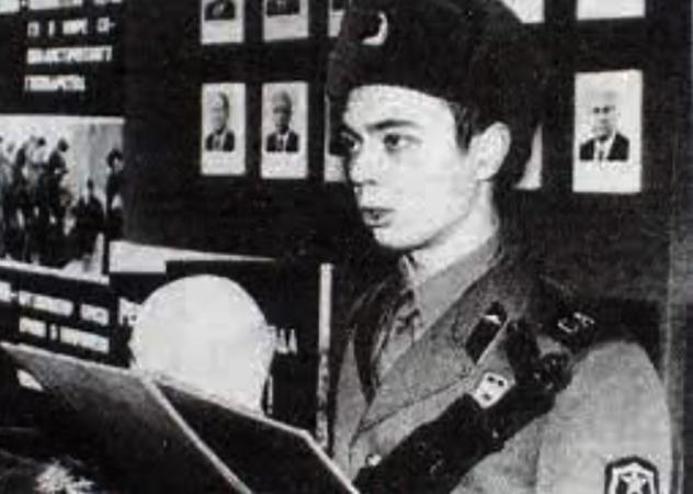 Андрей Леонов в армии