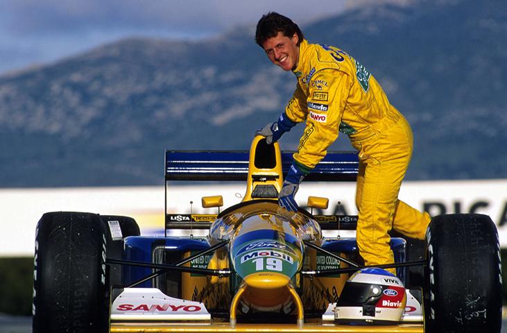 В команде «Benetton-Ford»