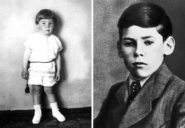 Алексий II в детстве