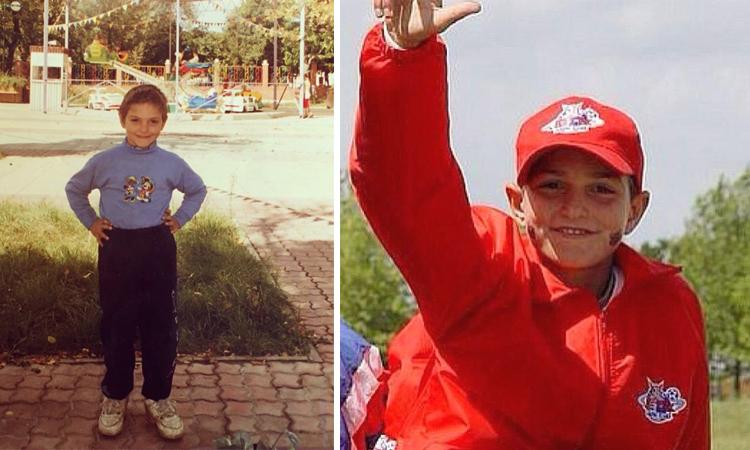 Магомед Оздоев в детстве