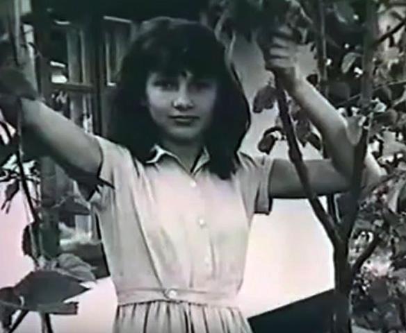 Лилия Амарфий в детстве