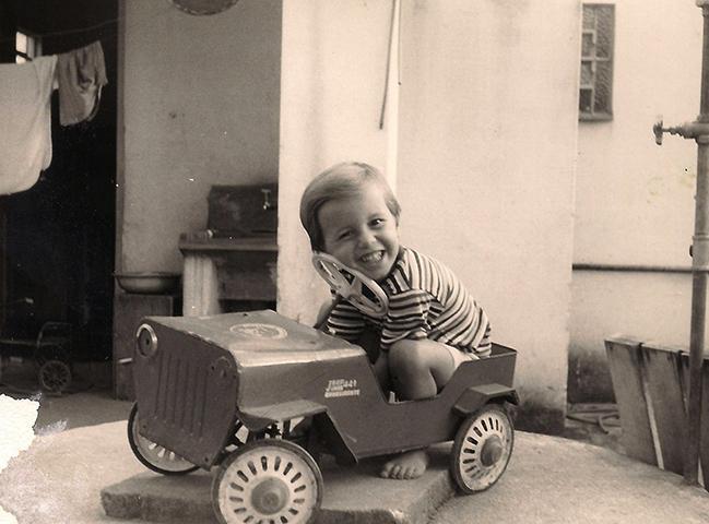 Михаэль Шумахер в детстве