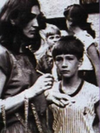 Петр Красилов в детстве