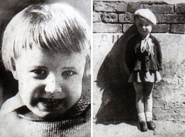 Алла Демидова в детстве