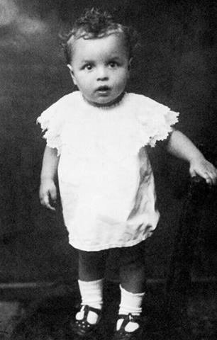 Юрий Левитанский в детстве (1923)