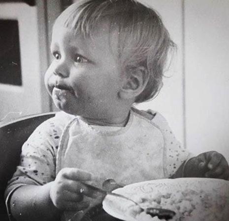 Александр Стекольников в детстве