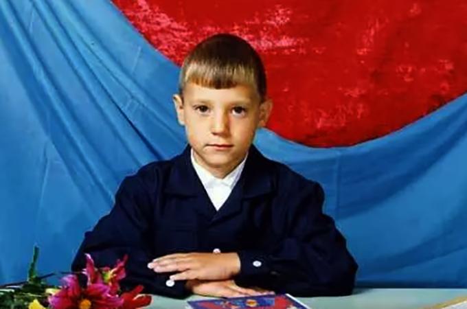 Сергей Марин в детстве