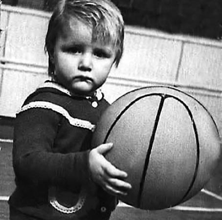 Андрей Кириленко в детстве