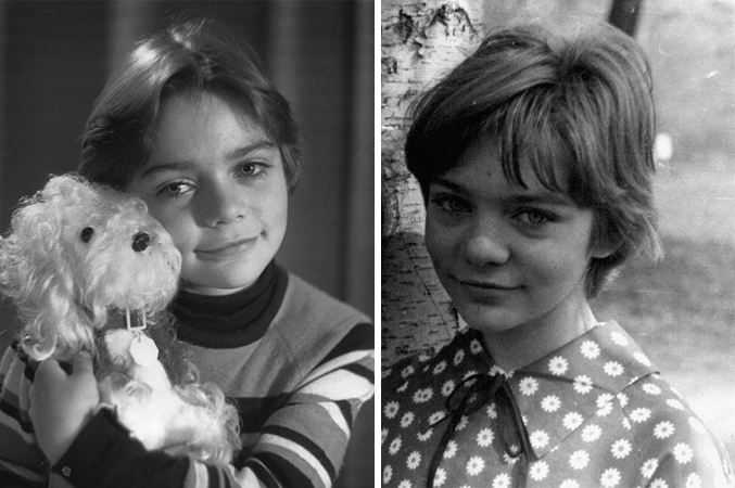 Наталья Гусева в детстве