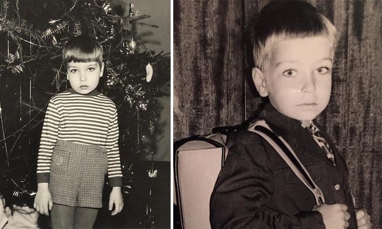 Кирилл Гребенщиков в детстве